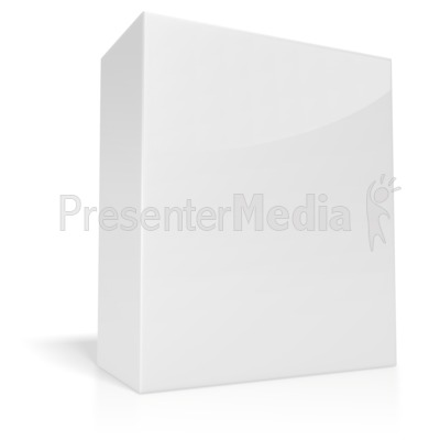 White Box  Presentation clipart
