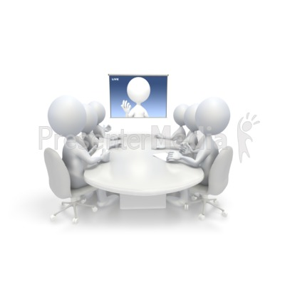 Video Conference Presentation clipart