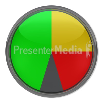 Blank Gauge Indicator Presentation clipart
