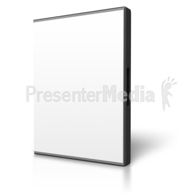 Blank Dvd Case Display Presentation clipart