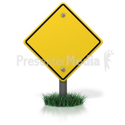 blank caution sign signs and symbols great clipart for
