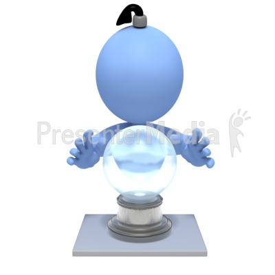 Fortune Teller Crystal Ball Presentation clipart