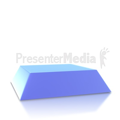 Four Point Pyramid Base Presentation clipart