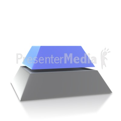 Four Point Pyramid Second Level Presentation clipart