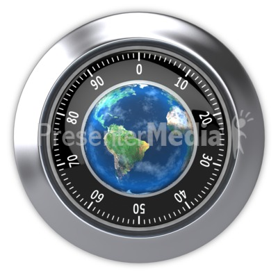 Secure World  Presentation clipart