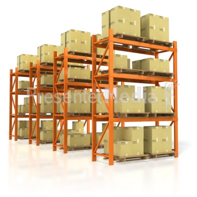 Warehouse Product Presentation clipart