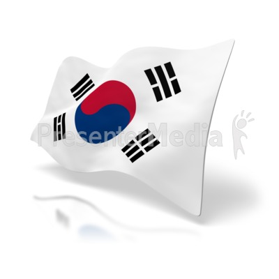 South Korea Flag Signs And Symbols Great Clipart For