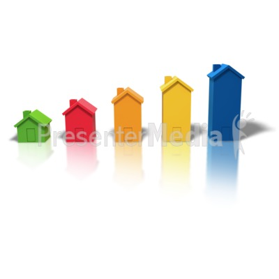 Housing Market Growth Presentation clipart