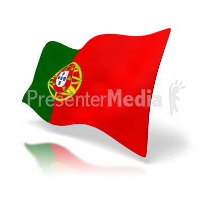 Portugal Flag Presentation clipart