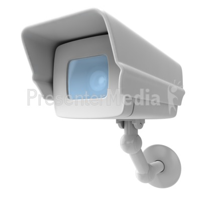 Camera Surveillance Closeup Presentation clipart