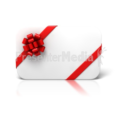 Blank Christmas Card Front Presentation clipart