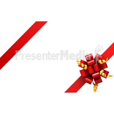 Gift Ribbon Corners Presentation clipart