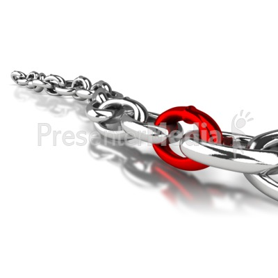 Shiny Chain Link Presentation clipart