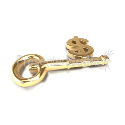 Dollar Key Presentation clipart
