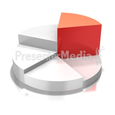 Circular Pie Chart Highlight Presentation clipart