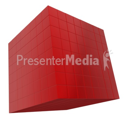 Group of Boxes Organized  Presentation clipart