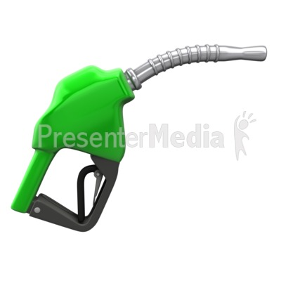 Gas Pump Nozzle Presentation clipart