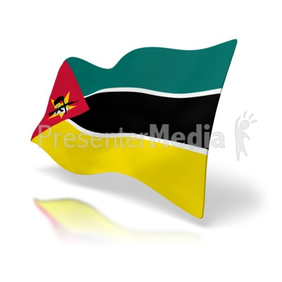 Mozambique Flag - Signs and Symbols - Great Clipart for