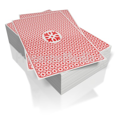 Deck of Cards  Presentation clipart