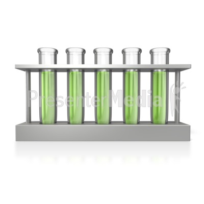 Test Tubes Rack Presentation clipart