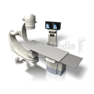 OEC C-arm Xray Machine Angled Presentation clipart