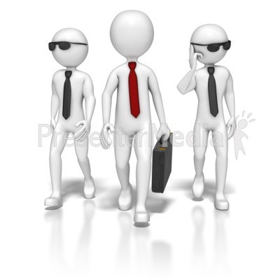 Business Team Walking Presentation clipart
