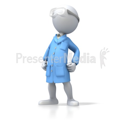 ESD Smock With Safety Glasses Presentation clipart