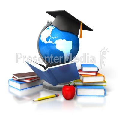 Global Education Reading Presentation clipart