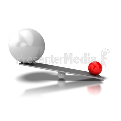 Balance Advantage Presentation clipart