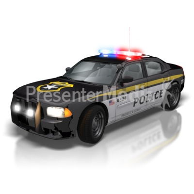 Police Car Lights Presentation clipart