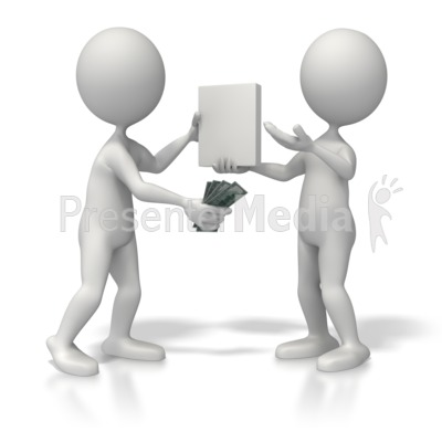 Sales Transaction Presentation clipart