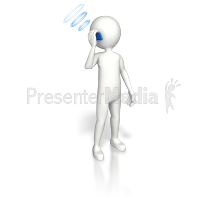 Cell Phone Communication Presentation clipart