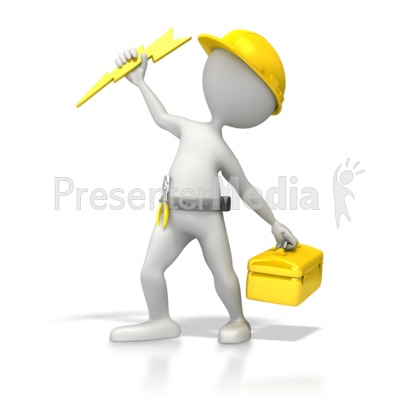 Electrician Power Presentation clipart