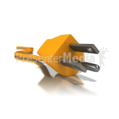 Electrical Cord Three Prong Presentation clipart
