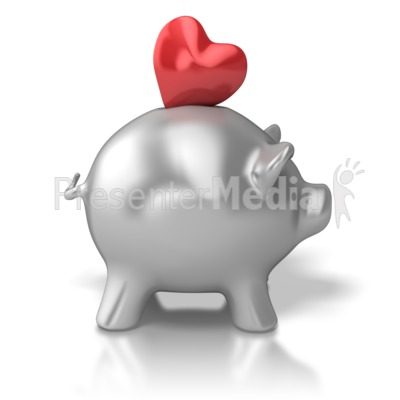 Compassion Bank Presentation clipart