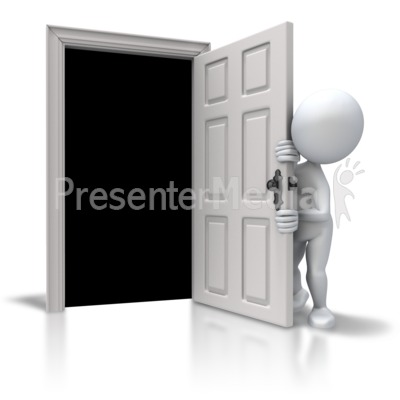 Afraid Of The Closet Presentation clipart
