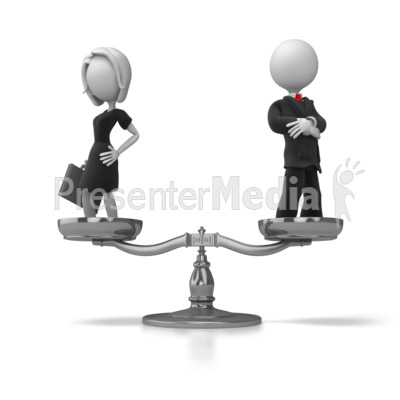 Business Equality Presentation clipart
