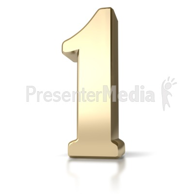 Gold One Presentation clipart