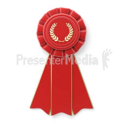 Red Ribbon Presentation clipart