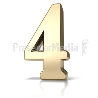 Gold Four Presentation clipart