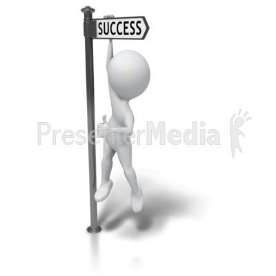 Hanging Around Successful Presentation clipart