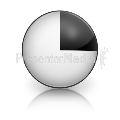 Harvey Ball Numberic One Representation Presentation clipart
