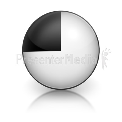 Harvey Ball Number Seven Representation Presentation clipart