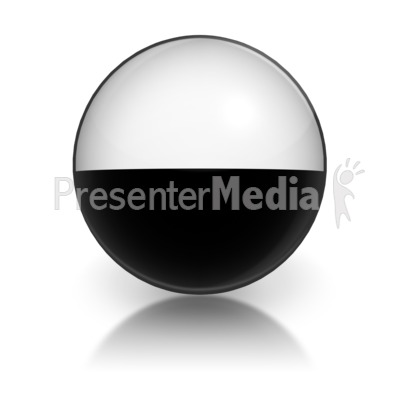 Harvey Ball Numberic Nine Representation Presentation clipart