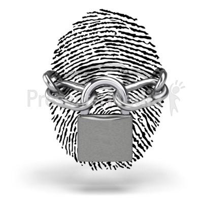 Secure Identity Presentation clipart