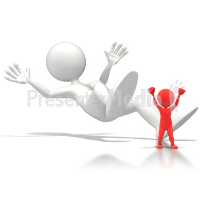 Toppled Giant Presentation clipart