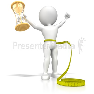 Lose Weight In No Time Presentation clipart