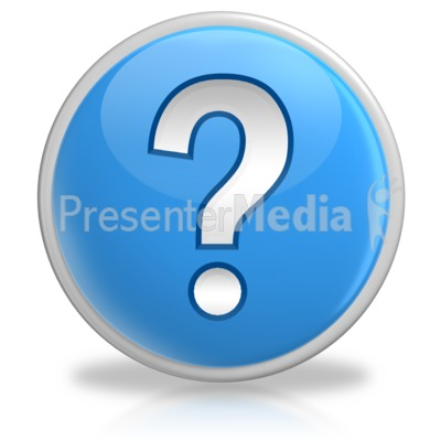 Question Mark Button Symbol Presentation clipart