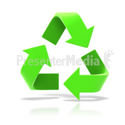 Recycle Symbol Presentation clipart
