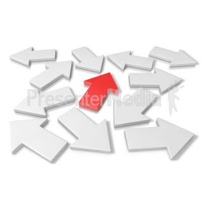 Arrow Direction Presentation clipart